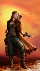 Aeons: Gun Slinger by lorraine-schleter