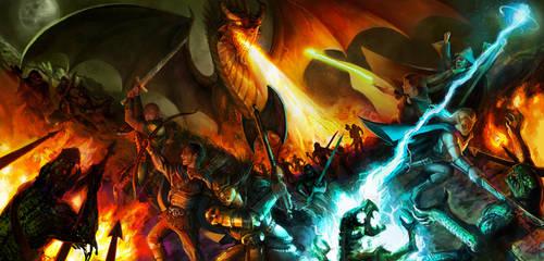 RPG Game Night by lorraine-schleter