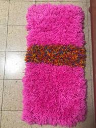 Pink Pom Pom Rug by sophiexxth
