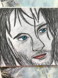 Aragorn, Strider by sophiexxth