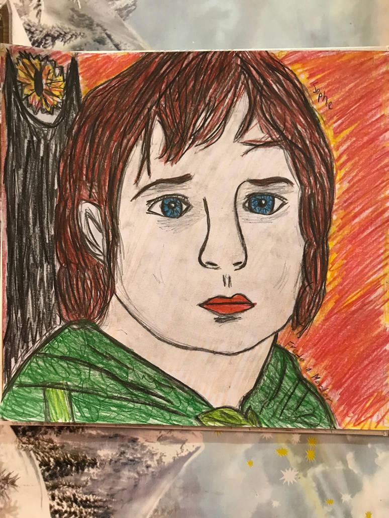 Frodo in Mordor by sophiexxth
