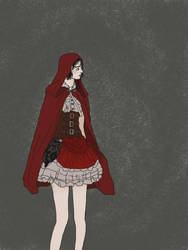 Little Red Riding Hood by AniimeOCD