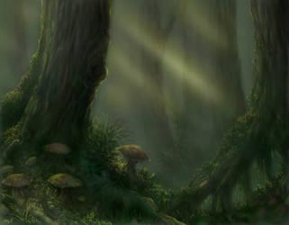 Tolkien Forest by cptphatty