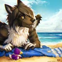 Sun soaked and sandy by Lukiri