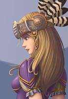 Silmeria painting preview by ziwu