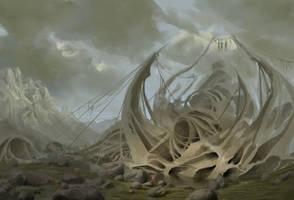 Environment sketch by VCRFerraz