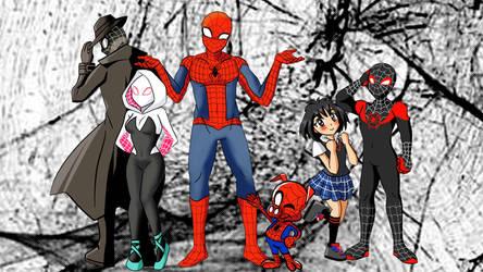 Spider Man Un Nuevo Universo 2018 By Angel De La Verdad On Deviantart