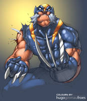 Tincan21's Wolverine Colored by ginmau