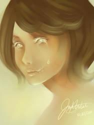 Speed Paint Sorrow by Jad-Ardat