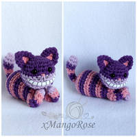 Cheshire Cat from Alice in Wonderland Plush by xMangoRose