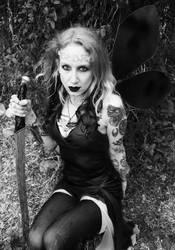 Goth fairy by InvisigothKillswitch