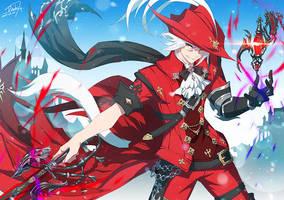 FFXIV - Ryu Sakurai by DarkHHHHHH
