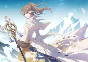 FFXIV - Althira Frostwolf by DarkHHHHHH
