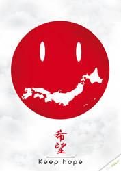 Japan Keep hope by stiffweb