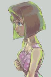 Green Anzu by GUNBINE