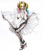 Marilyn Quinn by Guido9