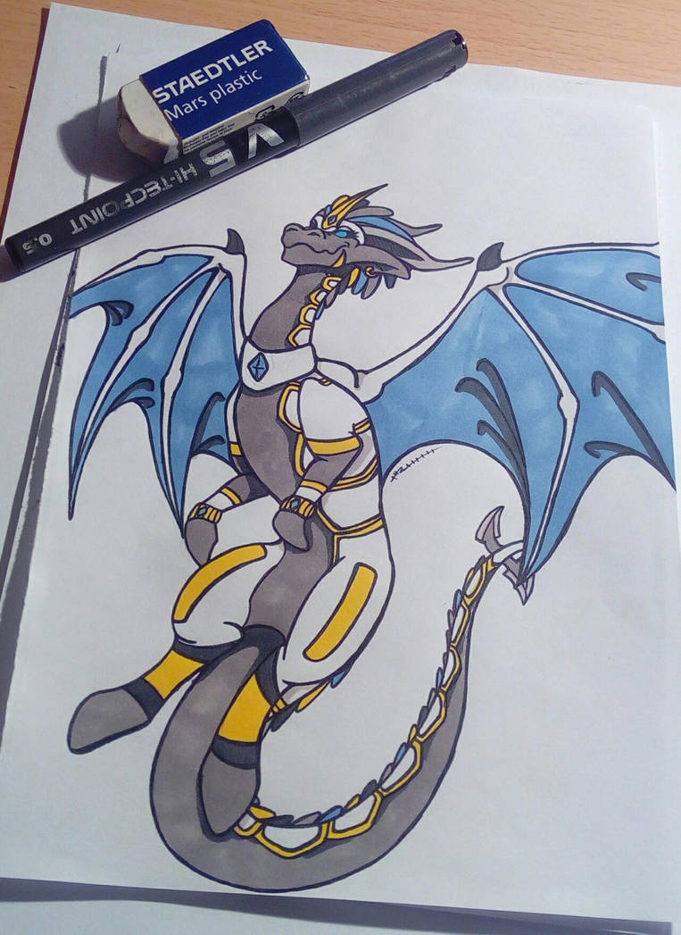 commande oc dragonformers by GabyLaZombie
