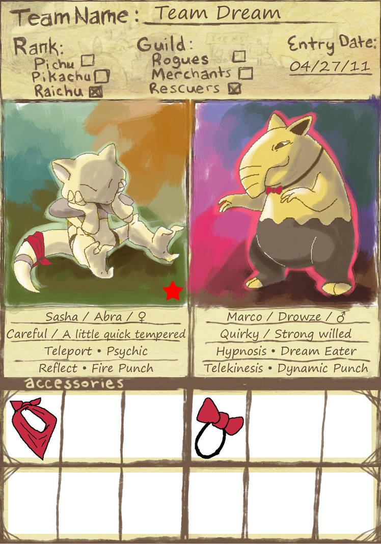 PMD - Team Dream by leedom111