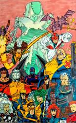 X-Men united by mohamed-ufo