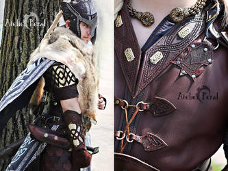 Griffon celtic armor by Feral-Workshop