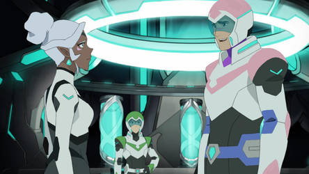 Allura and Shiro Clothing Colour-Palette Swap by RandomDexholder