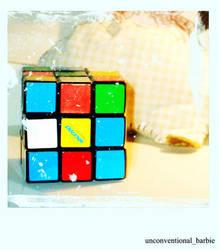 rubix cube love by unconventionalbarbie