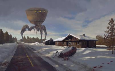 A Quiet Winter by MetolGuy