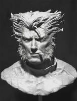 Wolverine - Clint Eastwood Style Bust 1/3 Scale by SimonFX