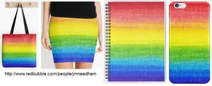 Sharpie Rainbow by JMNeedhamArt