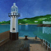 Smeaton's Pier, St Ives by JMNeedhamArt