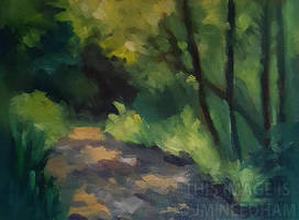 Dappled Light Study by JMNeedhamArt