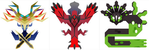 PMH Gen 6 Legendaries by Gryphon-Shifter