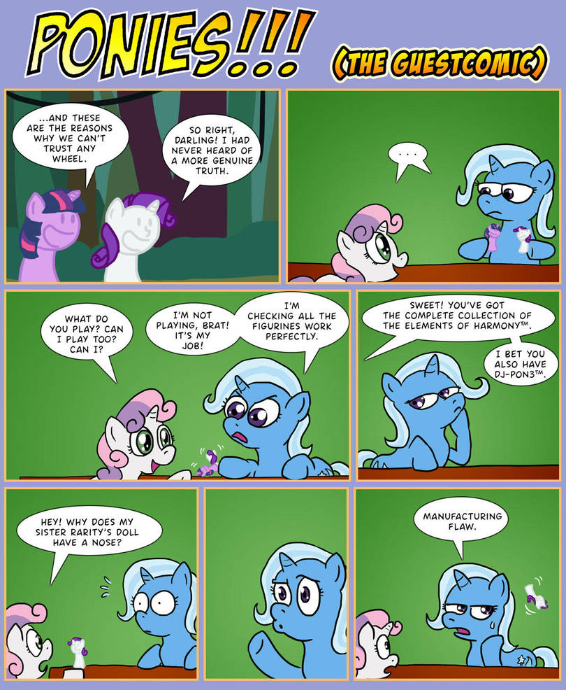 PONIES!!! - The guestcomic by Turag