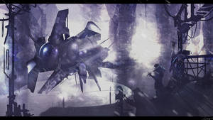 ship landing (11-26-12) by zakforeman