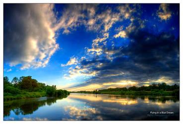 Flying in a Blue Dream by werol