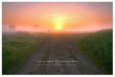 I'm so glad U said goodbye by werol
