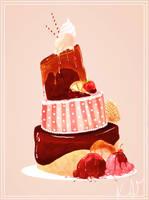 Cake, Please by KaylaBeeMarie
