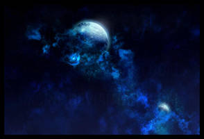 Space Scene by xcine