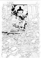 Daredevil by Joe Quesada, p22 by JulienHB
