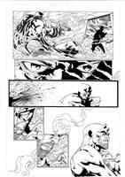 Daredevil by Joe Quesada, p21 by JulienHB