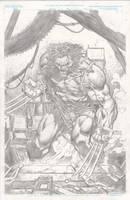 Wolverine, pencils by JulienHB