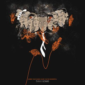 David Bowie by JulienHB