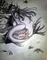 leirA the mermaid by CrissyBlue