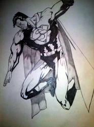 Superman by CrissyBlue
