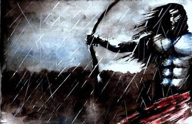 Arjuna...BloodnRain... by DreamersMystique