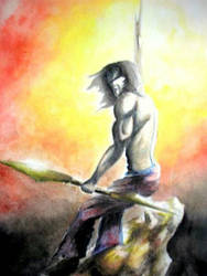 Arjuna...No Looking Back by DreamersMystique