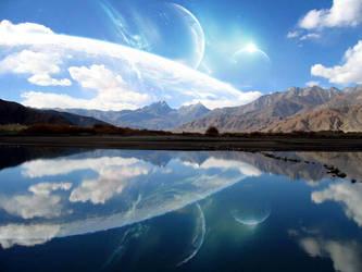 Lago en calma by isma-lopez