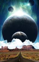 En el desierto by isma-lopez