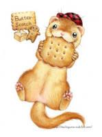 Butter scotch ferret by Kei-Naito