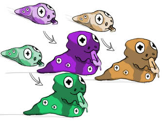 slimy evolution going on here! by Dafrag